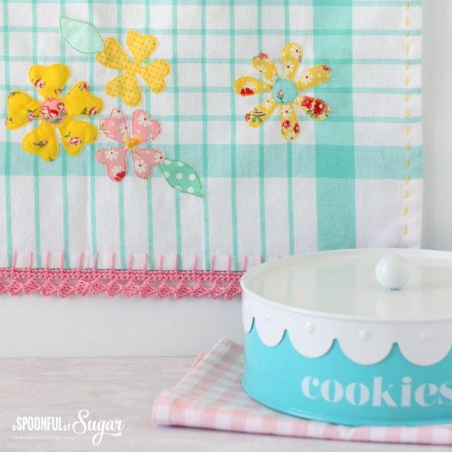 Spring Tea Towel | A Spoonful of Sugar | Bloglovin'