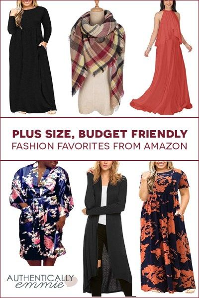 bebad540da221 Affordable Plus Size Fashion Finds from Amazon
