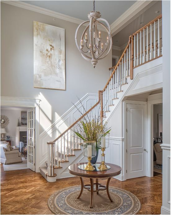 Foyer chandeliers for two story homes centsational girl for 2 story foyer chandelier