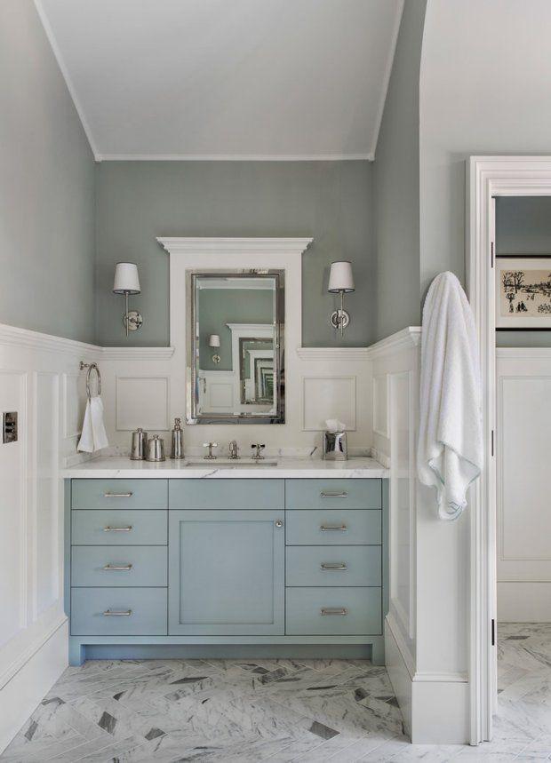 blue painted bath vanities centsational girl bloglovin