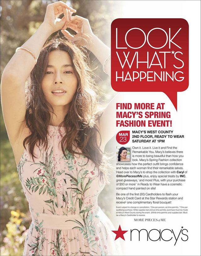 ba5c84eaf18 Save the date! Macy s Spring Fashion Event