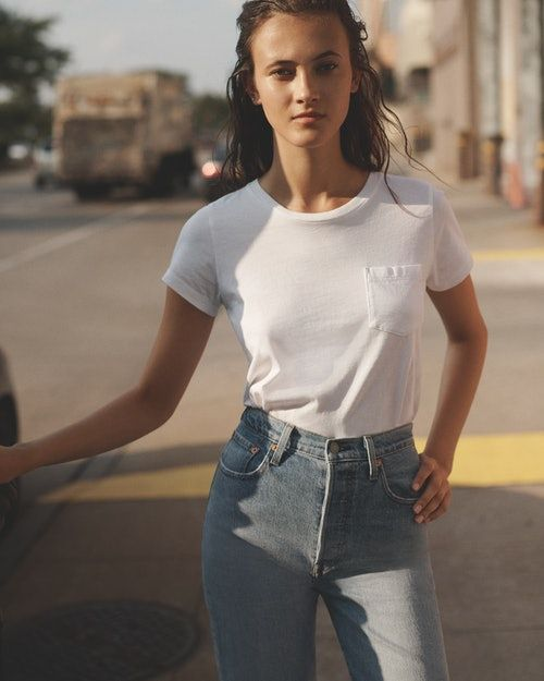 The Levi's Ribcage Jeans Have The Highest Rise Yet — & They