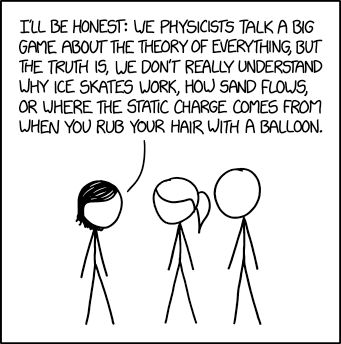 Physics Confession | xkcd com | Bloglovin'