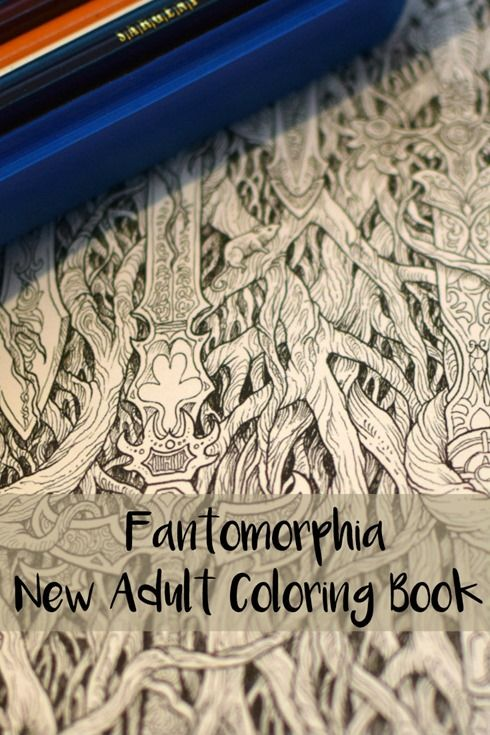 Fantomorphia New Adult Coloring Book
