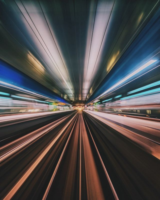 Photographer Transforms Cities into Abstract Tunnels of