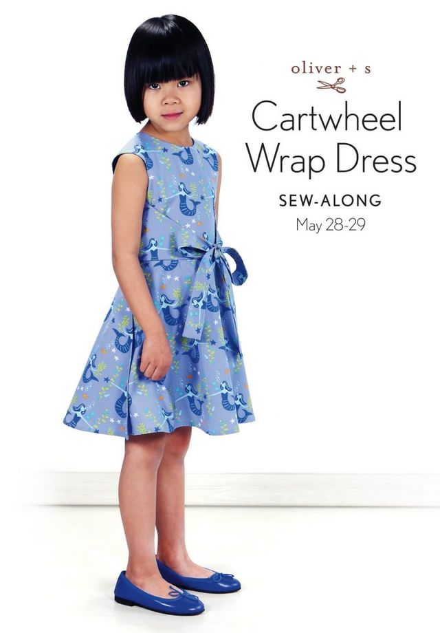 Announcing The Cartwheel Wrap Dress Sew Along Oliver S Bloglovin