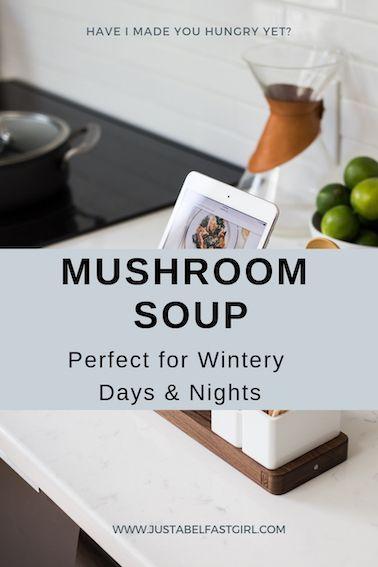 Foodie Recipes: Mushroom Soup | Posts by Nicole | Bloglovin'