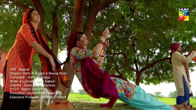 Baandi ost full song Hum Tv full hd song pakistani drama Sad song