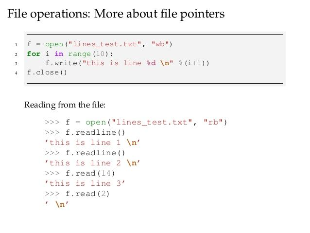 File operations in Python | Posts by saijohn | Bloglovin'