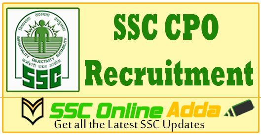 SSC CPO Application Form, Exam Date (See full details here