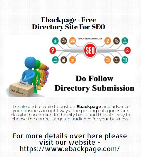 Best Free Directory Site – ebackpage com | Posts by SelenaVJ