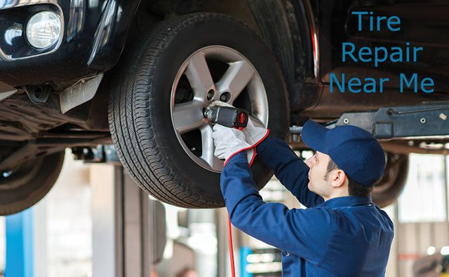 Best Tire Repair Shop Near Me - My Family Car Care   Posts ...