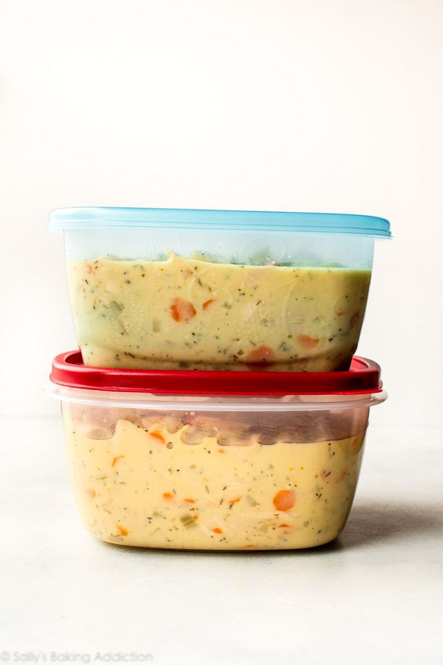 Freezer meals snacks to prep before baby sallys baking feeling ambitious towards the end of my pregnancy i cooked a couple times each week and ended up stocking our freezer with 8 large batch meals cookies forumfinder Choice Image