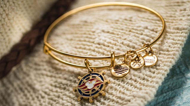 e651e8c3952 ... Disney Cruise Line wheel charm bangle, specially designed for our  guests. They are now exclusively available for purchase at Sea Treasures  onboard the ...